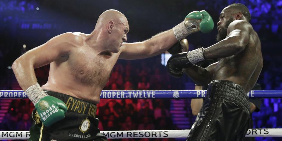 Фьюри стал первым боксером одержавшим победу над Уайлдером