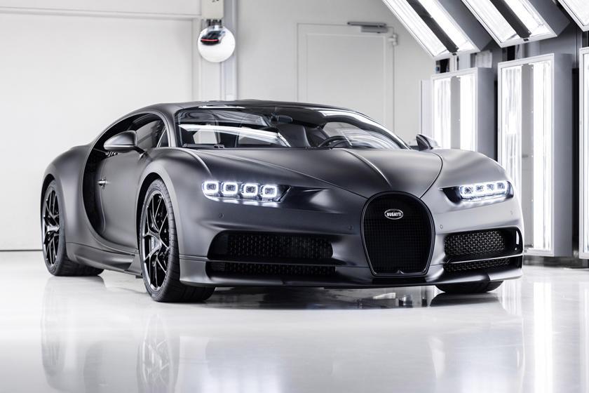 Брутальный Bugatti Chiron Noire Sportive