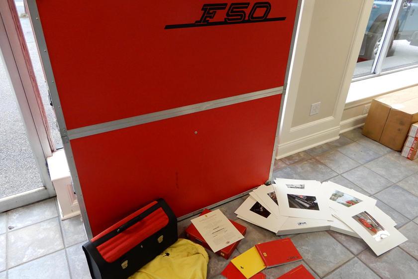 документация на Ferrari F50