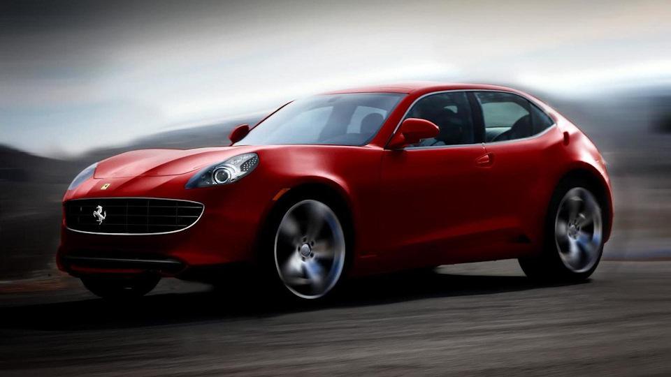 Ferrari внедорожник