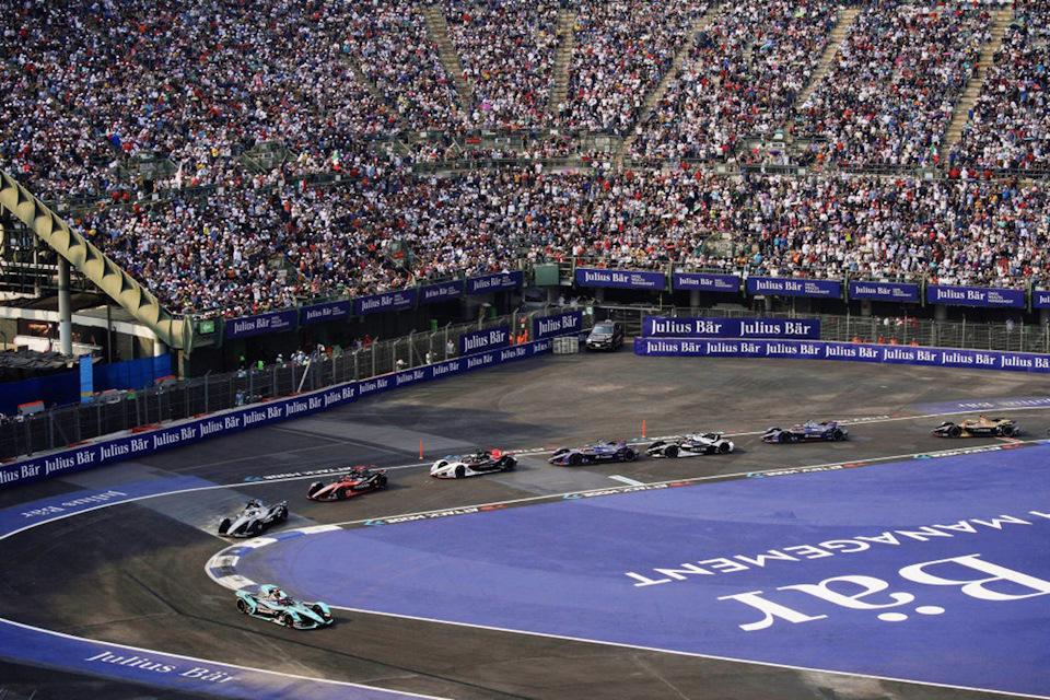 E-Prix Мехико гонки