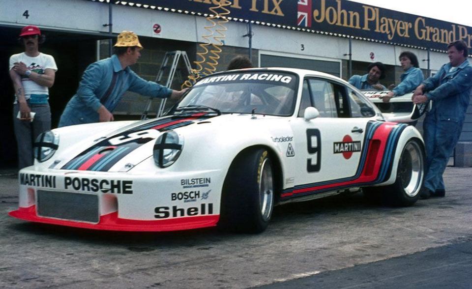 935/76 Жака Икса и Йохена Масса на «6 часах Сильверстоуна» '76.