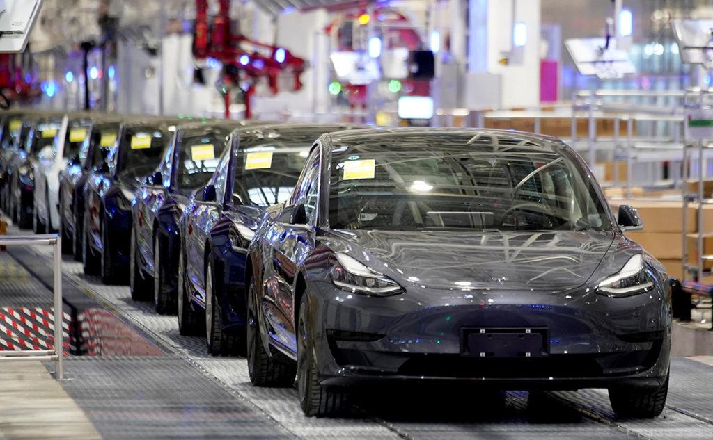 Капитализация Tesla