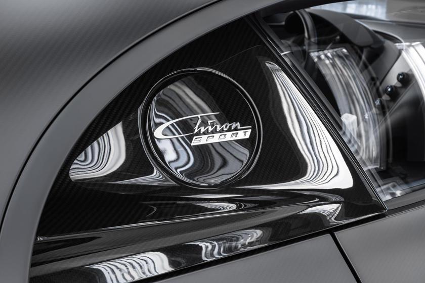Фары Bugatti Chiron Noire Sportive