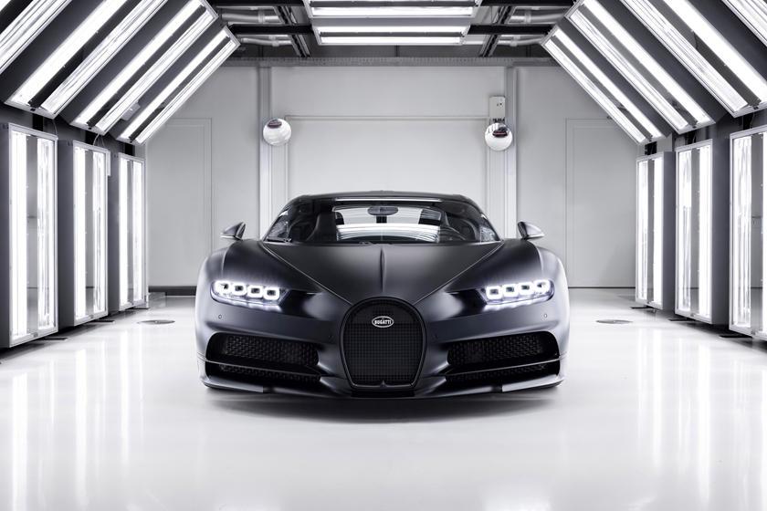Фото Bugatti Chiron Noire Sportive