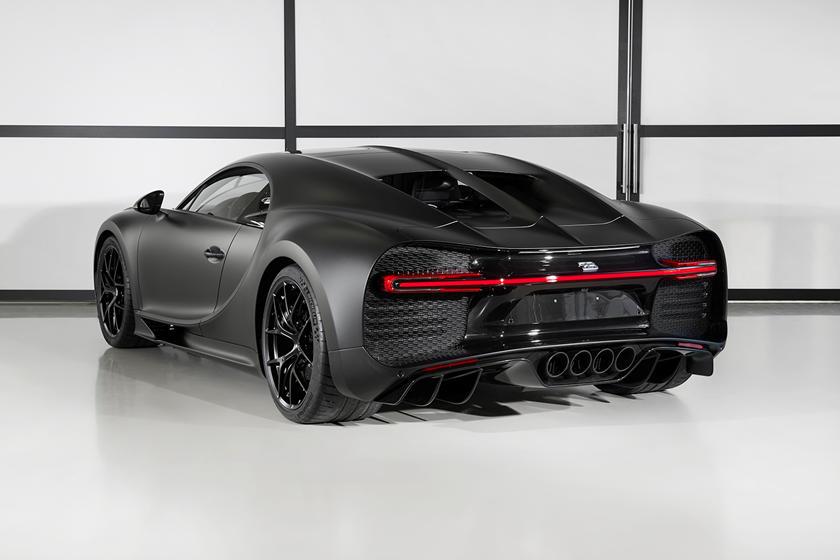 Красота Bugatti Chiron Noire Sportive