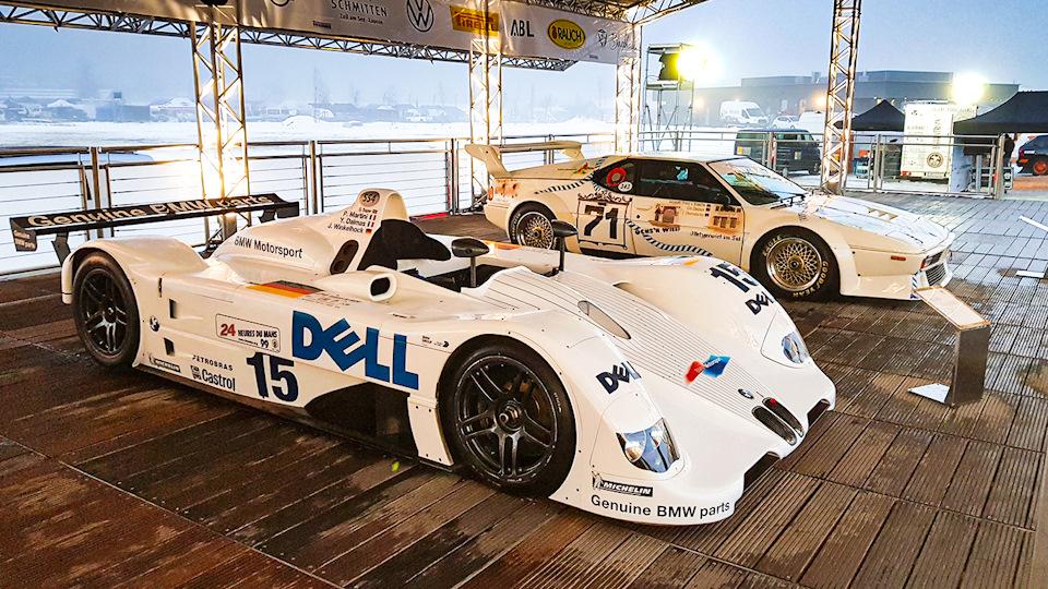 Еще одна легенда это спортпрототип BMW V12 LMR, which shows the most celebrated, одержавший победу в Ле-Мане в 1999 году