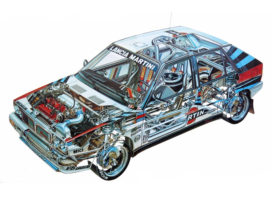 Lancia Delta HF Integrale 8V