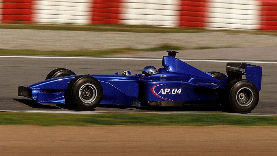 Жан Алези за рулем Prost A04