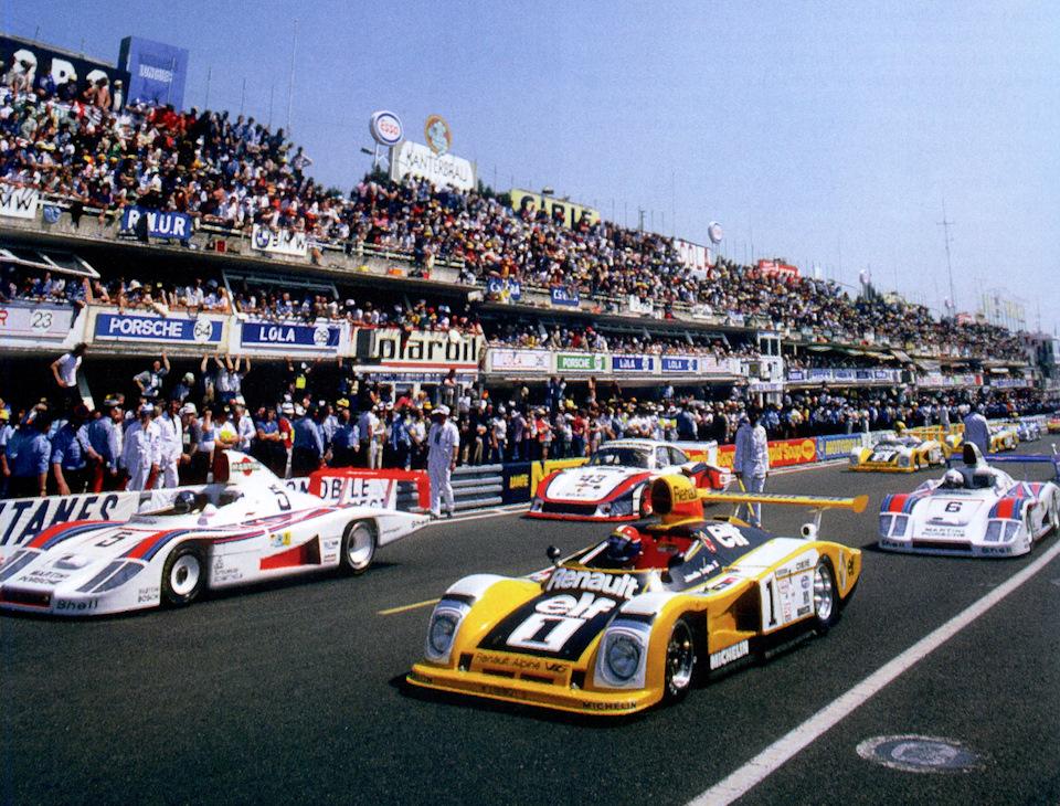 Renault-Alpine A442 и Porsche 936