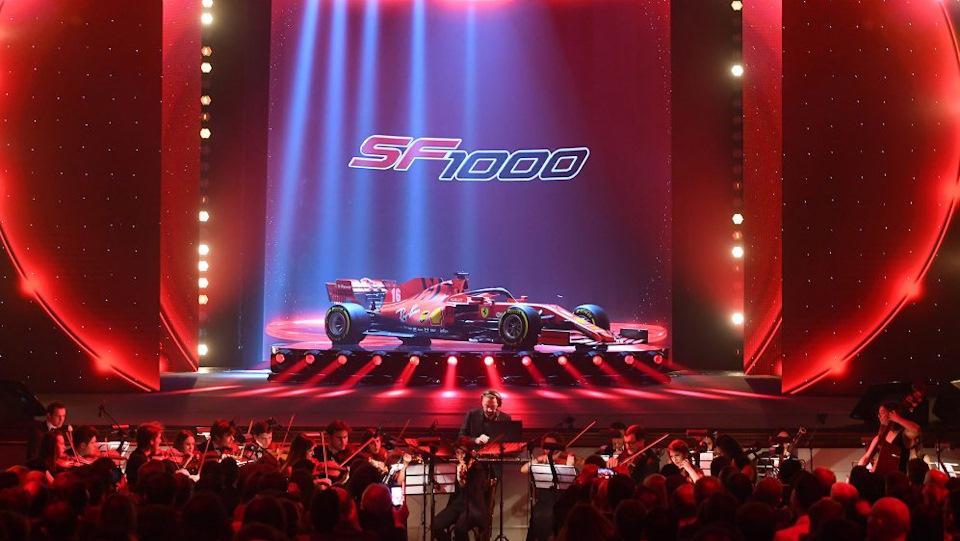 Ferrari SF1000 фото