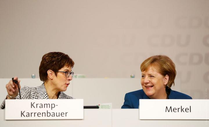 Преемница Меркель не станет баллотироваться