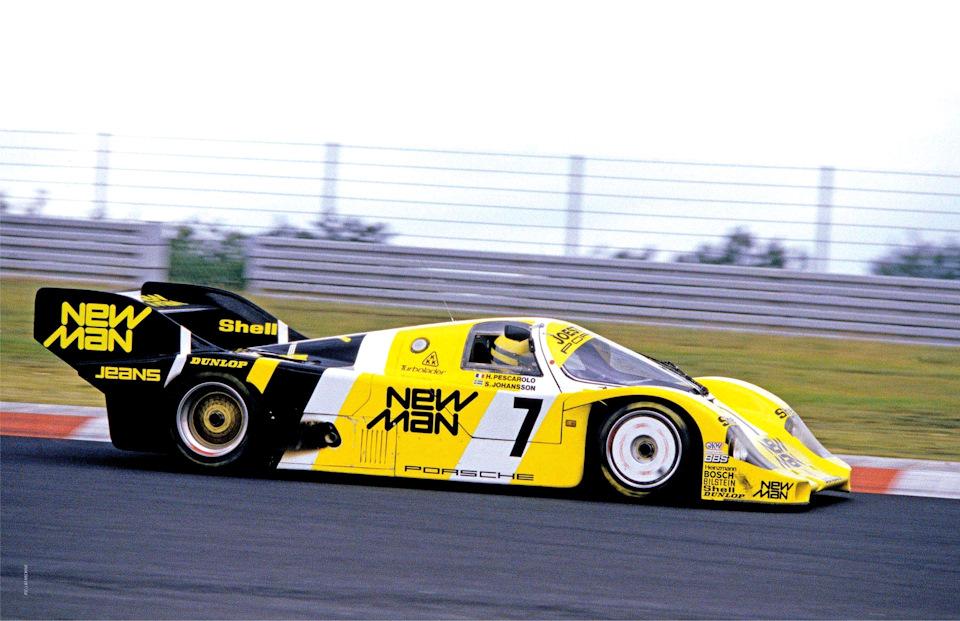 Две легенды – Айртон Сенна и Porsche 956
