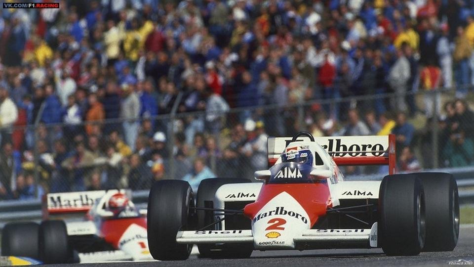 В сезоне 1985 Ален Прост отодвинул Ники Лауду на второй план и завоевал свой первый чемпионский титул