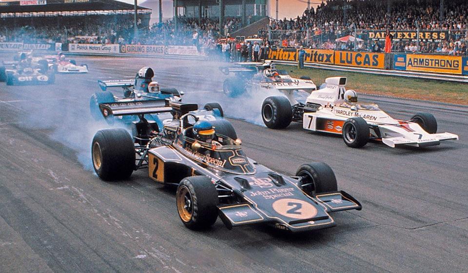 Старт Гран При Великобритании '73