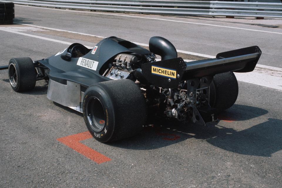 Экспериментальный болид Ф-1 Renault A500