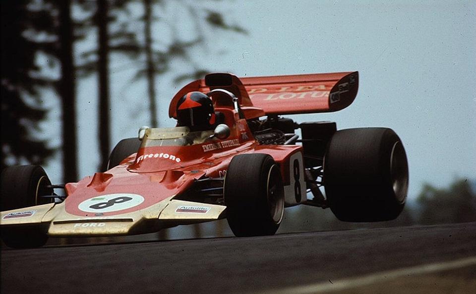 Эмерсон Фиттипальди на Lotus 72D