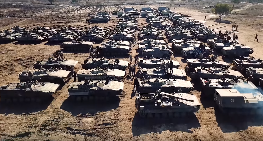 Боевая мощь армии Украины