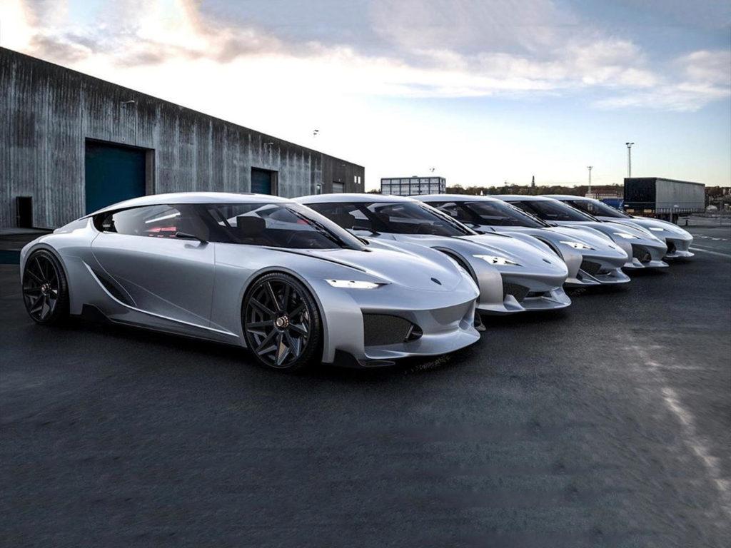 варианты дизайна Koenigsegg Gemera