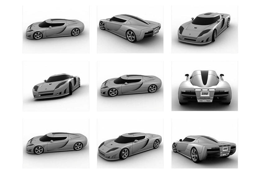 разработка Koenigsegg Gemera