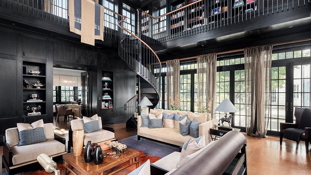 Библиотека Поместья соучредителя Calvin Klein за $100 миллионов