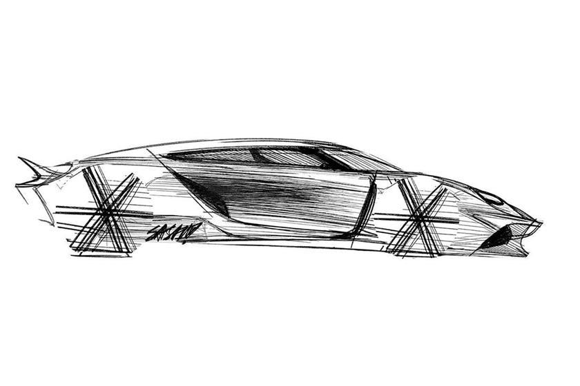 автодизайн Koenigsegg Gemera