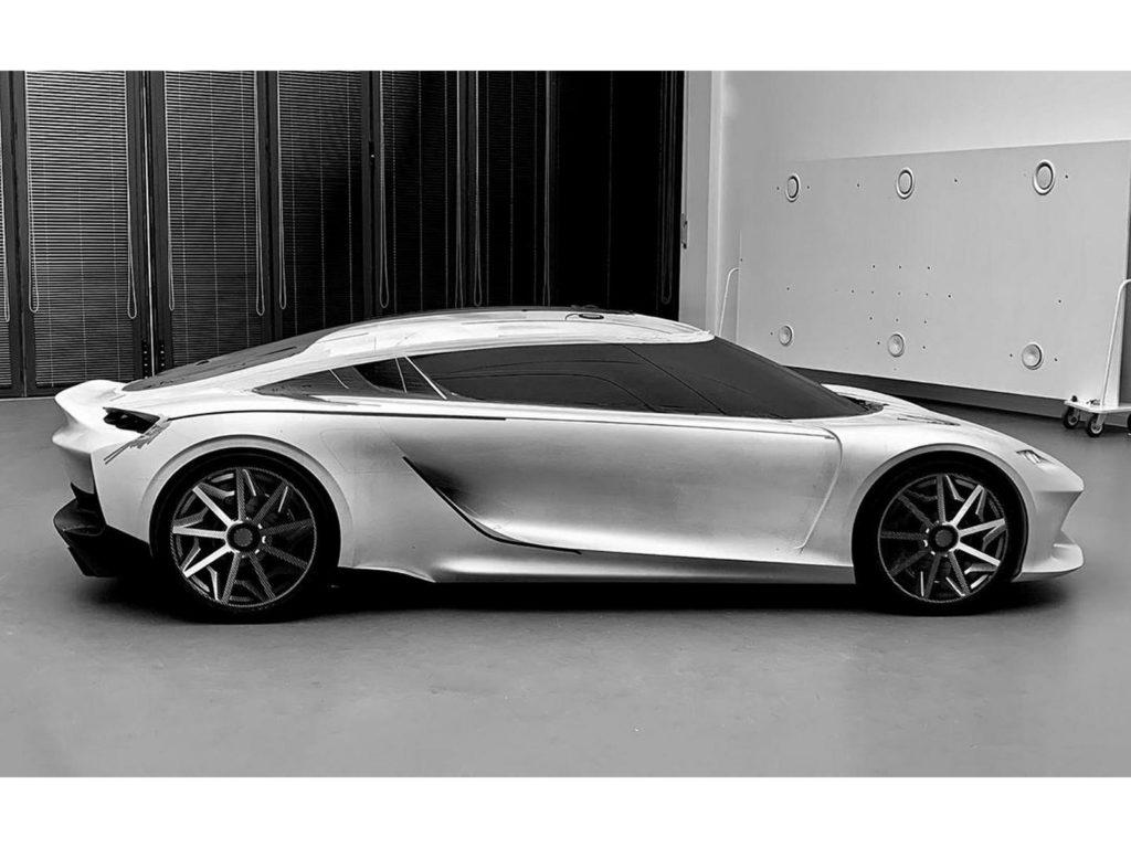 Koenigsegg Gemera разработка макета