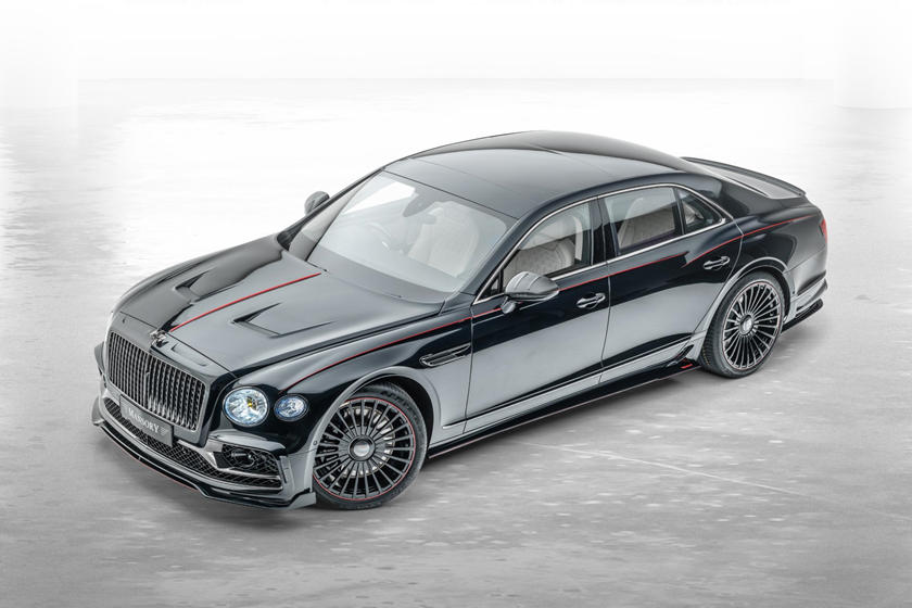 Mansory Bentley Flying Spur динамика