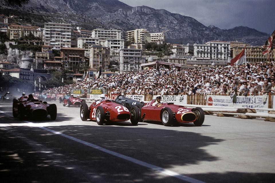 гонки в монако в кино