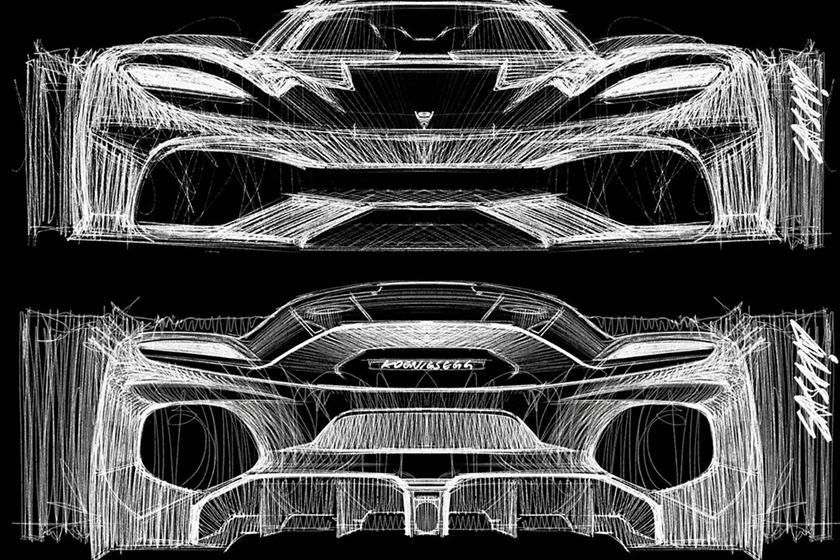 дизайн Koenigsegg Gemera