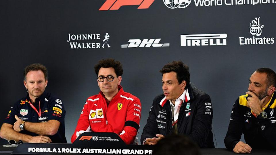 руководители гоночных команд