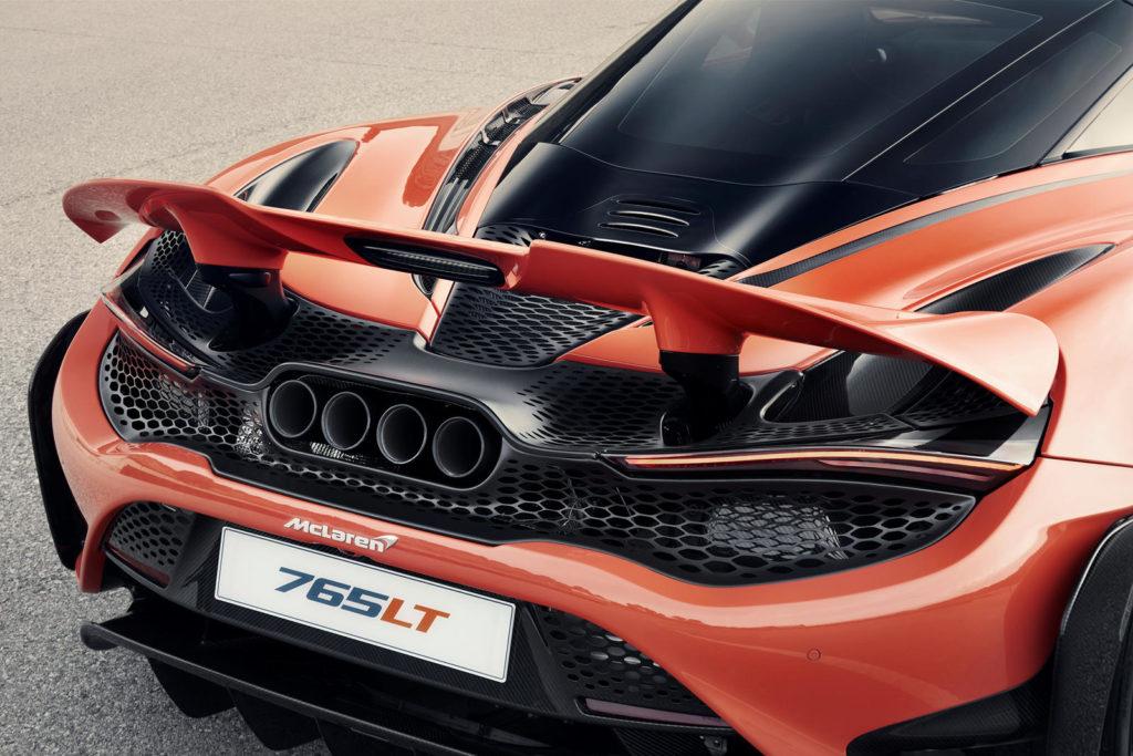 аэродинамика McLaren 765LT