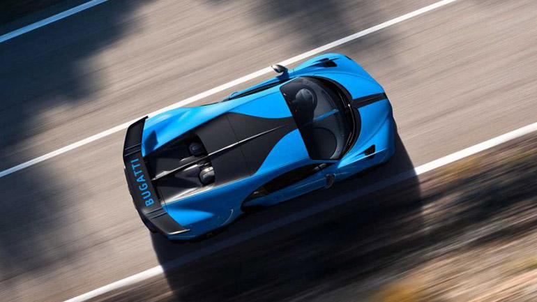 Bugatti Chiron Pur Sport фото