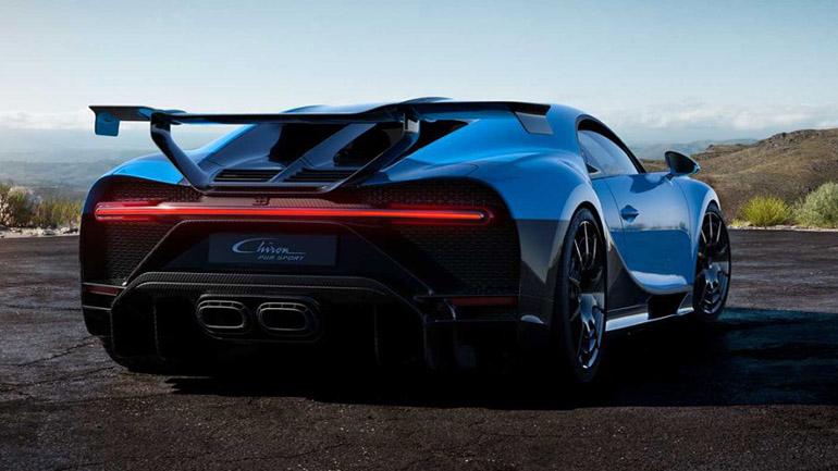 Bugatti Chiron Pur Sport обзор