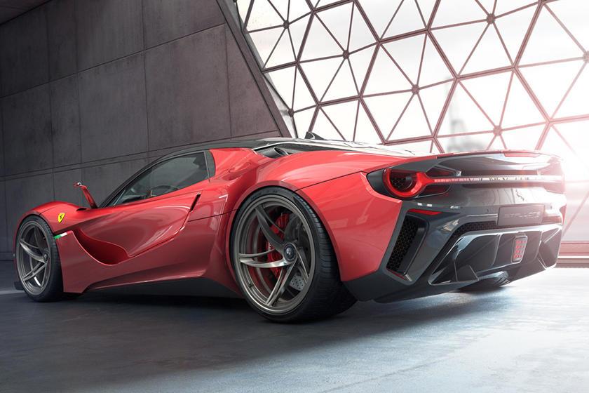 Ferrari Stallone дизайн