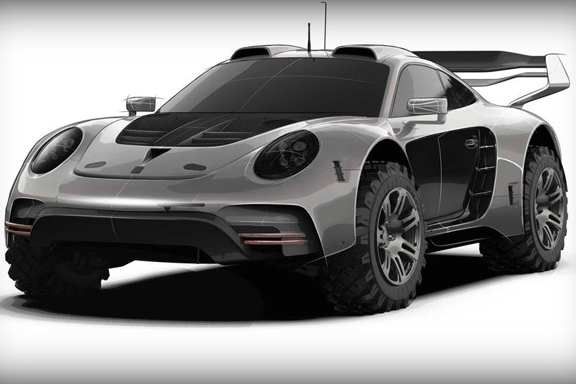 скетчи Gemballa Porsche 911