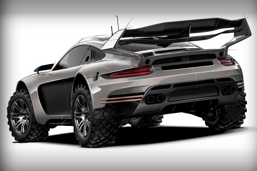 Gemballa Porsche 911 дизайн