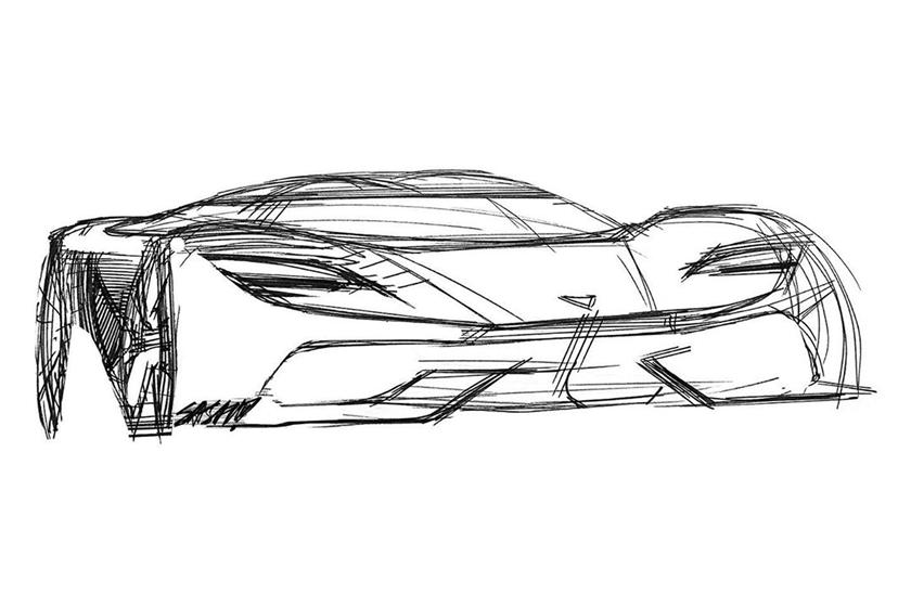 рисунок Koenigsegg Gemera