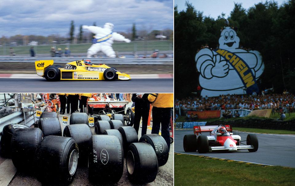 Michelin пришли в Формулу-1 вместе с Renault, но больших успехов добились с другими коллективами