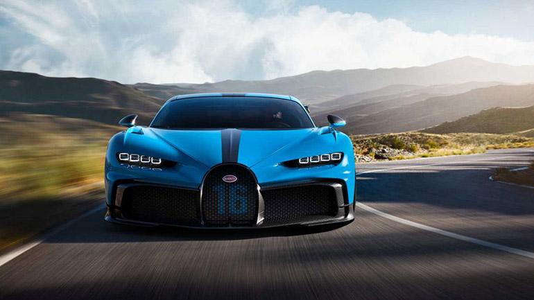 Bugatti Chiron Pur Sport спереди
