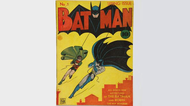 Бэтмена № 1 с весны 1940 года
