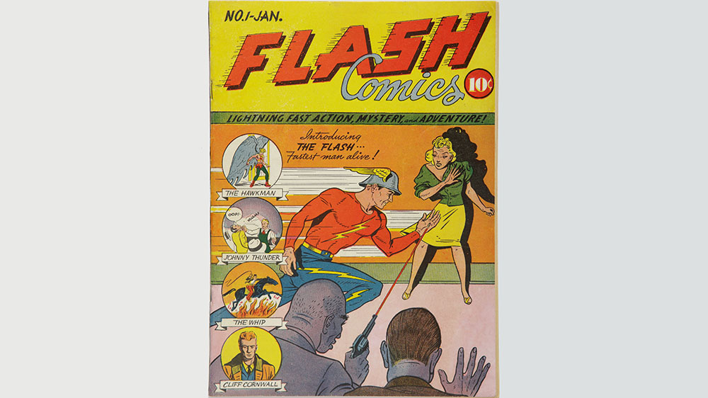 Flash Comics # 1 с января 1940 года