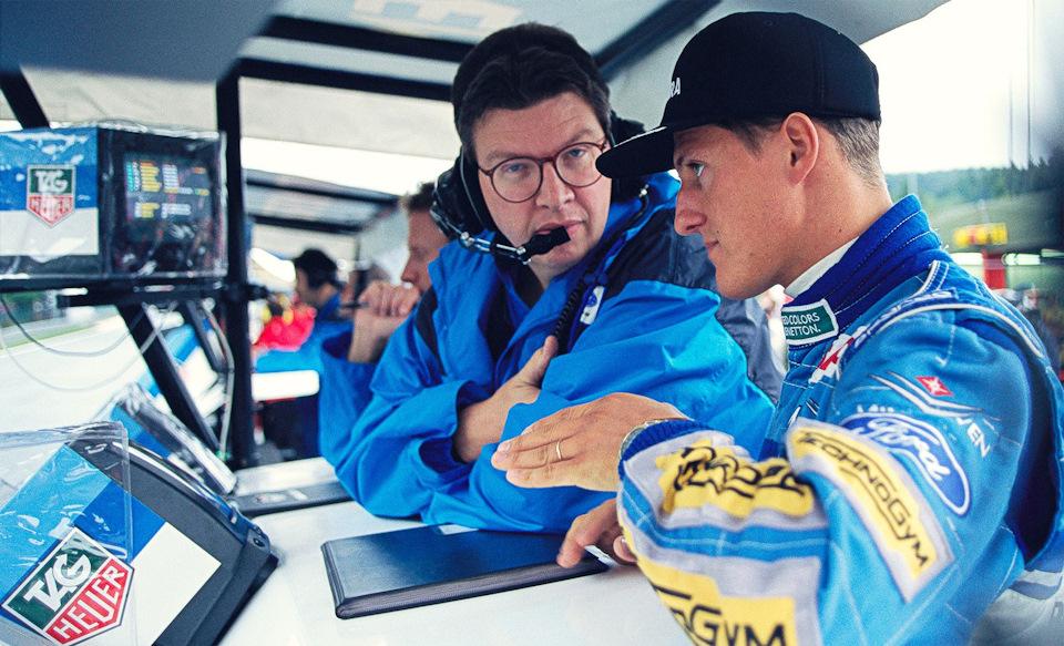 Росс Браун — творец всех чемпионских автомобилей Михаэля Шумахера.