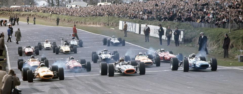 Старт «Гонки Чемпионов» '68.