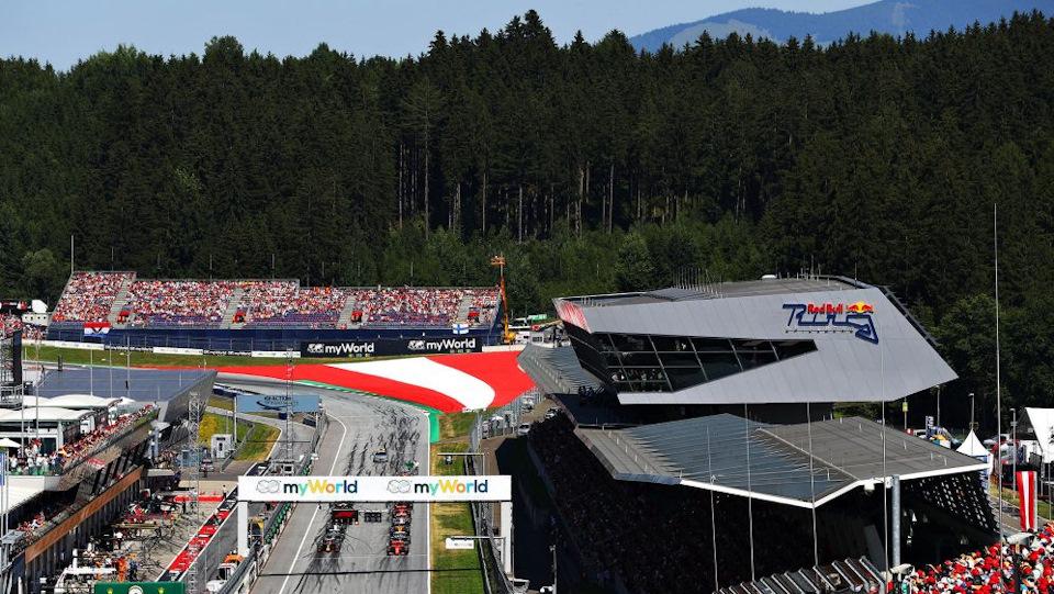 гонки в австрии