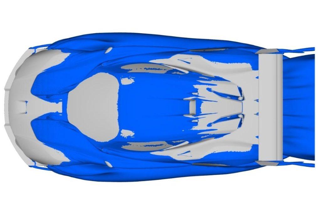 аэродинамика Brabham BT62