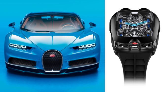 Bugatti Chiron Tourbillon от Jacob & Co