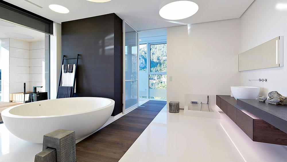 Вилла Chameleon и ванная