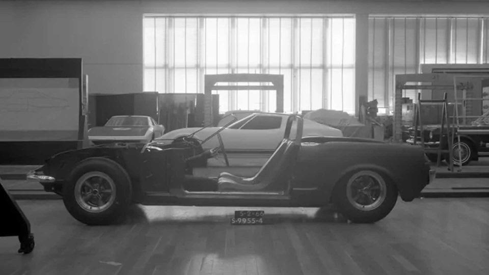 макет автомобиля в разрезе