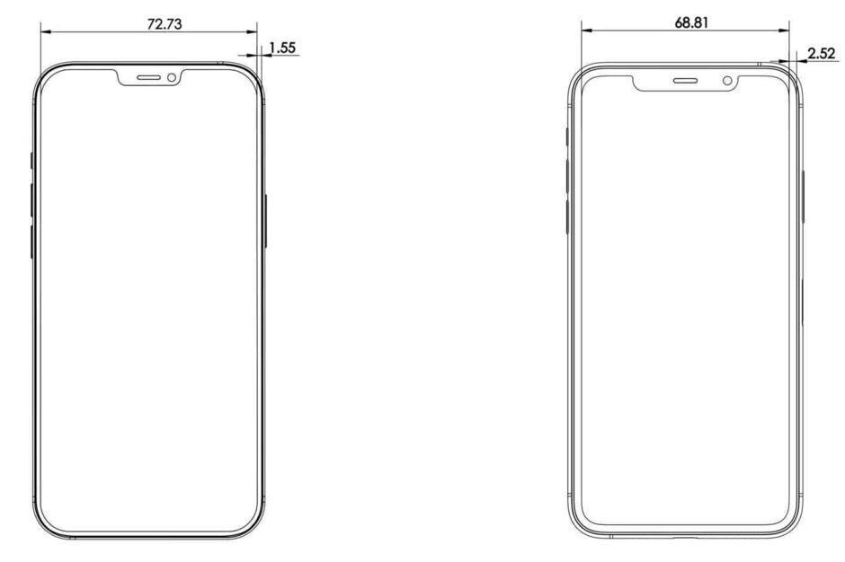 размеры Apple iPhone 12 Pro Max